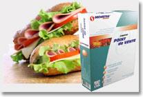 logiciel de caisse tactile snack